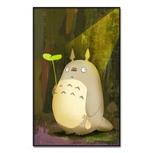 My Neighbor Totoro Anime Movie Poster Oil Paintings Wall Art Canvas Print Painting Decor Picture for Living Room
