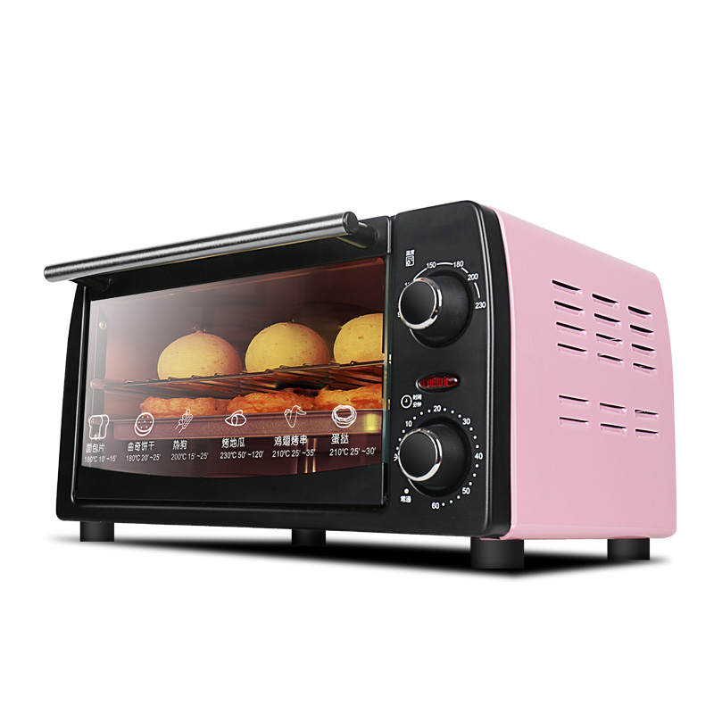 DMWD 10L Mini Electric Oven Multifunctional Household Baking Machine For DIY Snack Cookie Pizza Cake Maker 60min Time Setting high quality cookies mold gun 12 flower mold 6 pastry tips cookie cutter cookie machine biscuit maker diy baking tools m1299
