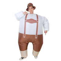 Oktoberfest Mascot Cosplay Costumes For Men Adult Party Anime Inflatable Garment Halloween Christmas Clothes Fancy Dress Toys