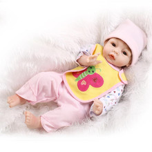 Whole World Sell 55cm 22inch Reborn Baby Doll NPK Brand Bebes Meninas Benecas With Real Cotton Made Two -Piece Clothes Best Gift
