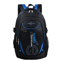 Elementary School Children S Waterproof Backpack Based On Ergonomic Design Of The Burden Of Back Schoolbag