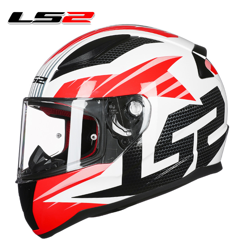 LS2 FF353 high quality full face motorcycle helmet man woman racing motorbike helmets ABS reinforced shell rapid moto helmets original ls2 ff353 full face motorcycle helmet high quality abs moto casque ls2 rapid street racing helmets ece approved