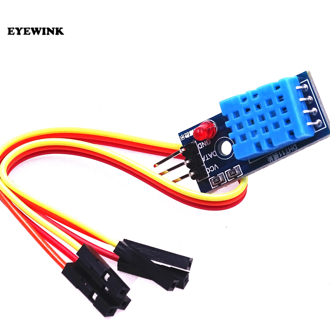 50pcs DHT11 Temperature and Relative Humidity Sensor Module With Cable