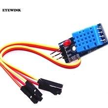 50 adet DHT11 Sıcaklık ve Bağıl Nem Sensörü Modülü Ile Kablo