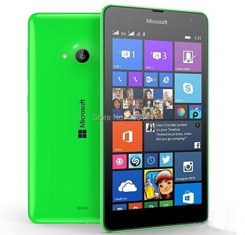 "bilder für Original Nokia Lumia 535 Handy entsperrt Windows Phone 5,0 ""Touchscreen Quad Core Dual SIM Wifi, freies DHL-EMS Verschiffen"