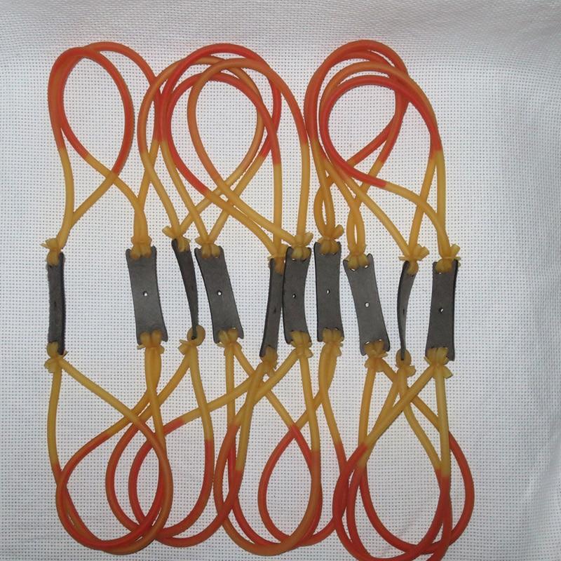 Freeshiping Większa penetracja w gumkach używanych do strzelania na miotaczach katapulta 3060 Proca ścięgna