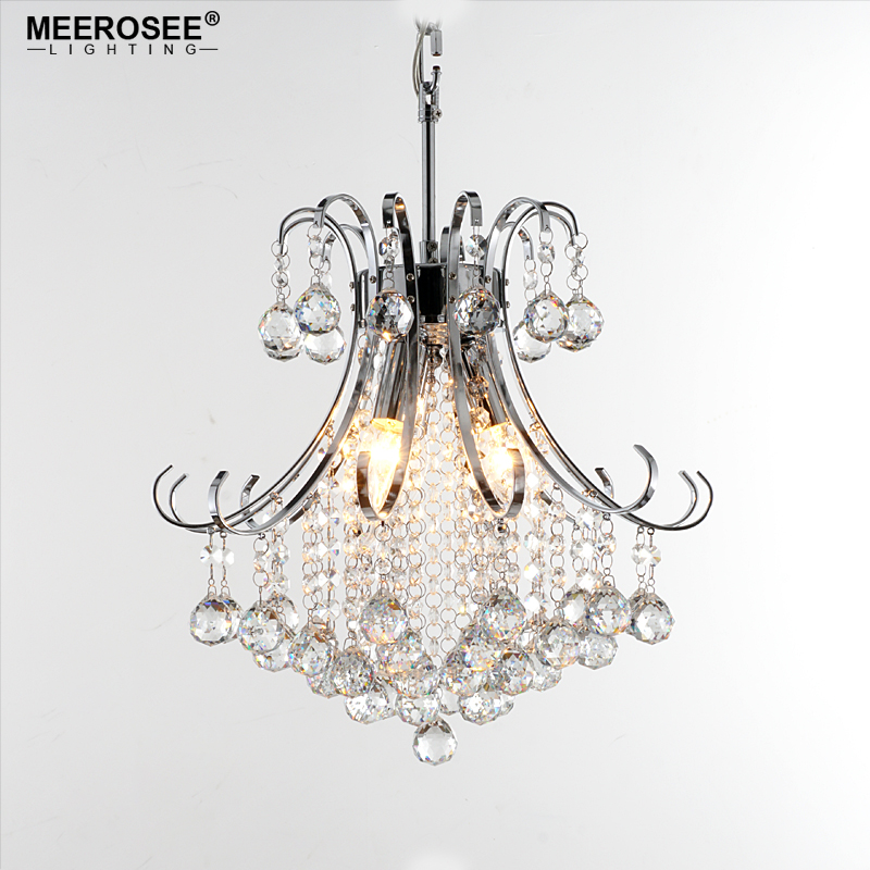 Modern Luxurious Crystal Chandelier Elegant Crystal Suspension Lamp Lustre Crystal Hanging Lamparas for Living room Dining room 2017 new chandelier light fixture modern glass chandelier suspension lamp lamparas aluminum drop lustre for living dining room