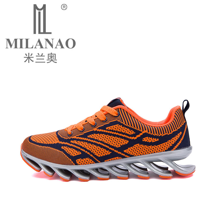 ФОТО MILANAO Breathable Running Shoes for Man 2016 Athletic Jogging  Men's Sport Sneakers Training Shoes Men Trainers zapatos hombre
