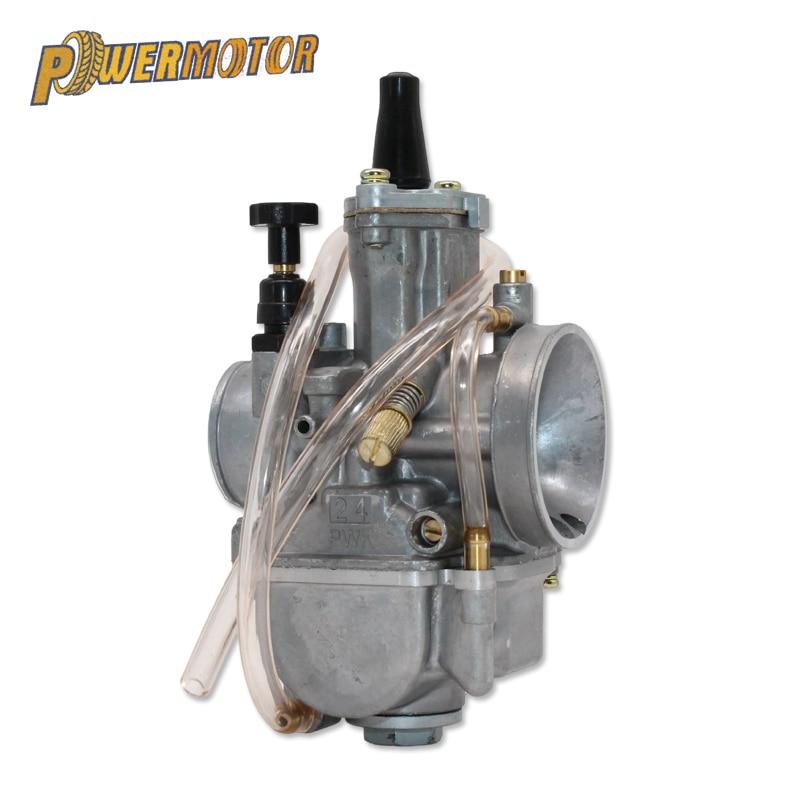 OKO PWK 21 24 26 28 30 32 2 Stroke & 4 34 milímetros Carb Universal Desempenho Avc Carburador De Corrida ajuste para todos os Motores de Motocicleta