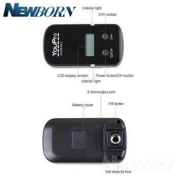 YP-870II UC1 mount Wireless Shutter Timer Remote for Olympus E-M10/E-M5/E-M1/PEN-F/E-PL7/E-PL6/E-PL5/E-PL3/E-PL2/E-P5/E-P3