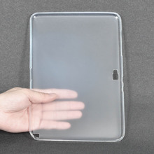For Samsung Galaxy Note 10 1 Soft TPU Cover Funda for Samsung Galaxy Note 10 1 N8000 N8010 10 1inch Tablet Case+Stylus cheap Solid Shockproof Drop resistance 10 1 NoEnName_Null 24cm Protective Shell Skin 17cm Casual Semitransparent
