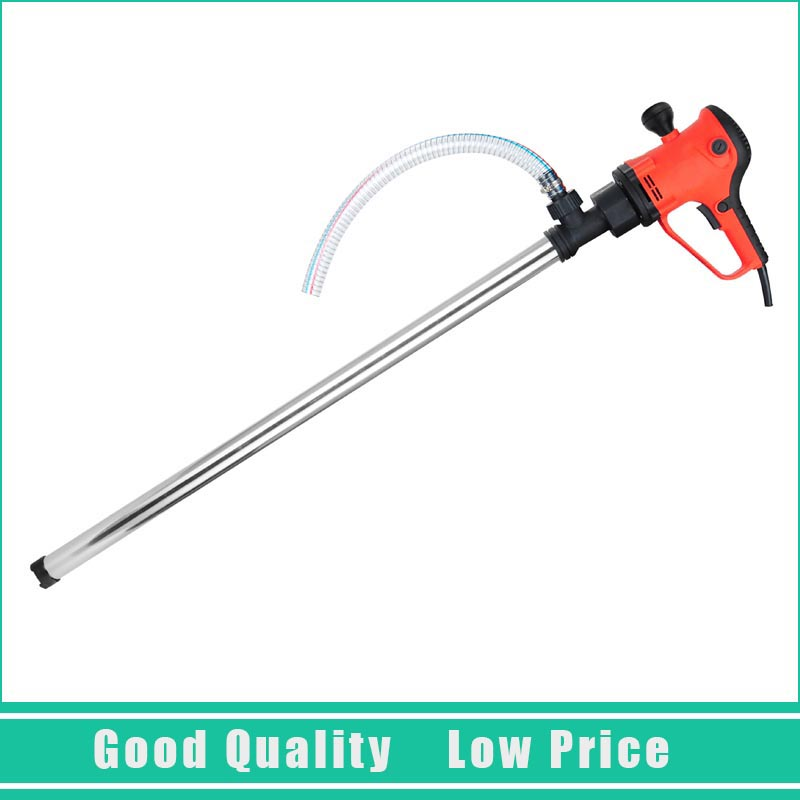 D72 Vertical Hand Barrel Pump 220V 50-250L/min Electric Oil Pumping Pump With C Aluminum Alloy Pipe цена и фото