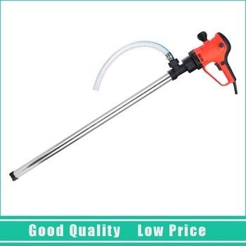 D72 Vertical Hand Barrel Pump 220V 50-250L/min Electric Oil Pumping Pump With C Aluminum Alloy Pipe