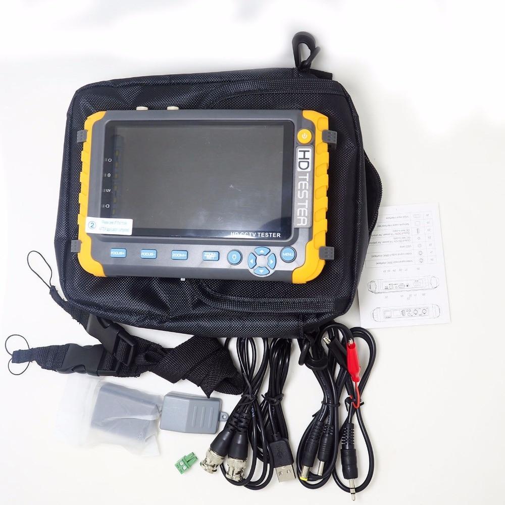 2020superventas 5 pulgadas Tft Lcd Hd 5Mp Tvi Ahd Cvi Cvbs cámara de seguridad analógica probador Monitor en un Cctv probador Vga Hdmi entrada lv8w