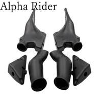 For Honda CBR600RR CBR600 F5 Ram Air Intake Tube Duct Pipe 2003 2004 03 04 Black