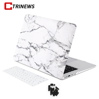CTRINEWS Marble Texture Case Matte Cover For Apple Macbook Air Pro Retina 11 12 13 15