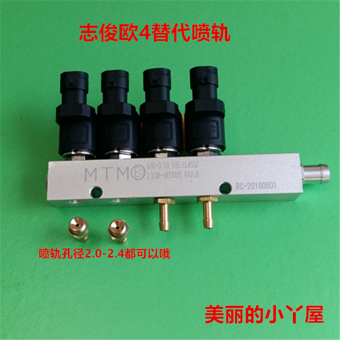 3/4Ohms 4 cylinder CNG LPG Injector Rail Super Silent high speed Common BRC Injector Rail gas injector3/4Ohms 4 cylinder CNG LPG Injector Rail Super Silent high speed Common BRC Injector Rail gas injector