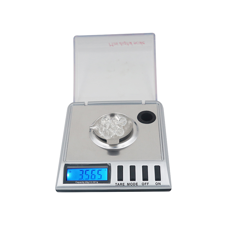 5pcs high precision 20g 0 001g digital backlight sterling silver jewelry electronic weight scale tweezer farmar