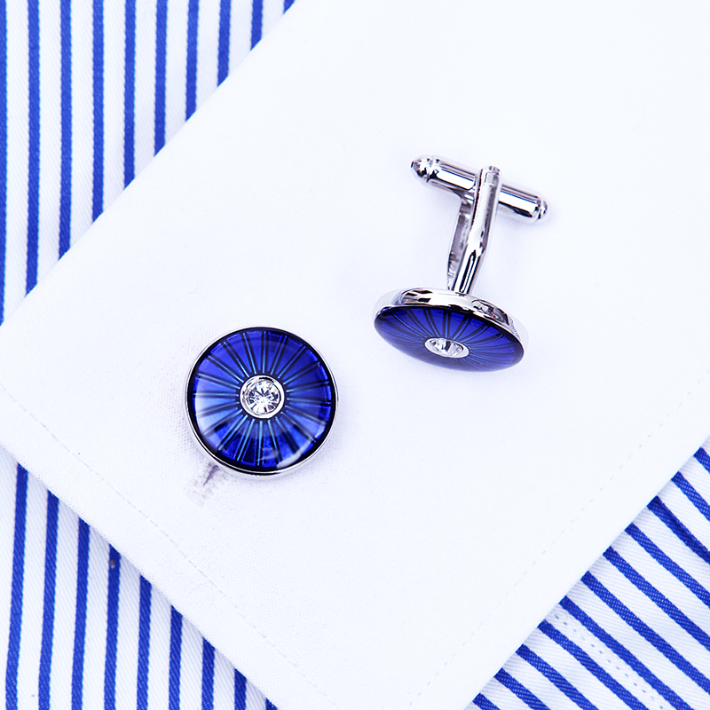 KFLK bijoux mode chemise française boutons de manchette pour hommes - Bijoux fantaisie - Photo 4