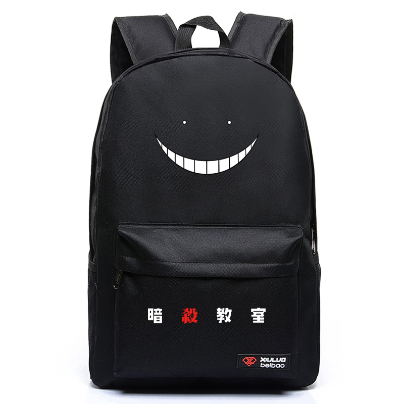Anime Assassination Classroom New Ansatsu Kyoushitsu Korosensei Backpack Anime Cosplay School Bag Preppy Style Oxford Teenagers ootdty new fashion anime theme death note cosplay notebook new school large writing journal 20 5cm 14 5cm