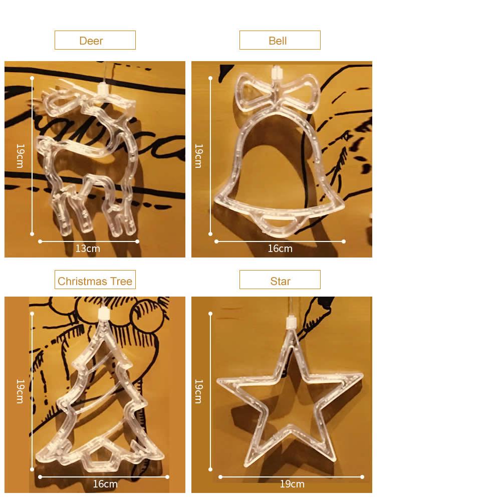 Jiaderui LED Xmas Dekoracyjne Nowy Rok Światła Świąteczne Deer - Oświetlenie wakacje - Zdjęcie 2