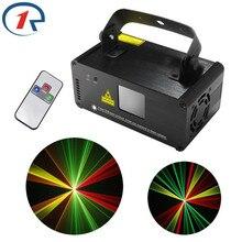 ZjRight IR À Distance Rouge Vert Jaune Laser Stage de Lumière DMX512 Scanner faisceau effet dj laser lumière concert Vocal Bar KTV disco lumière