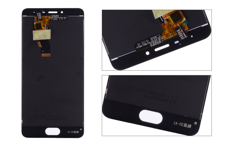 5.0 Black White Original M3S Mini LCD For MEIZU M3S Display Touch Screen with Frame M3 S LCD Screen Y685H Replacement (7)