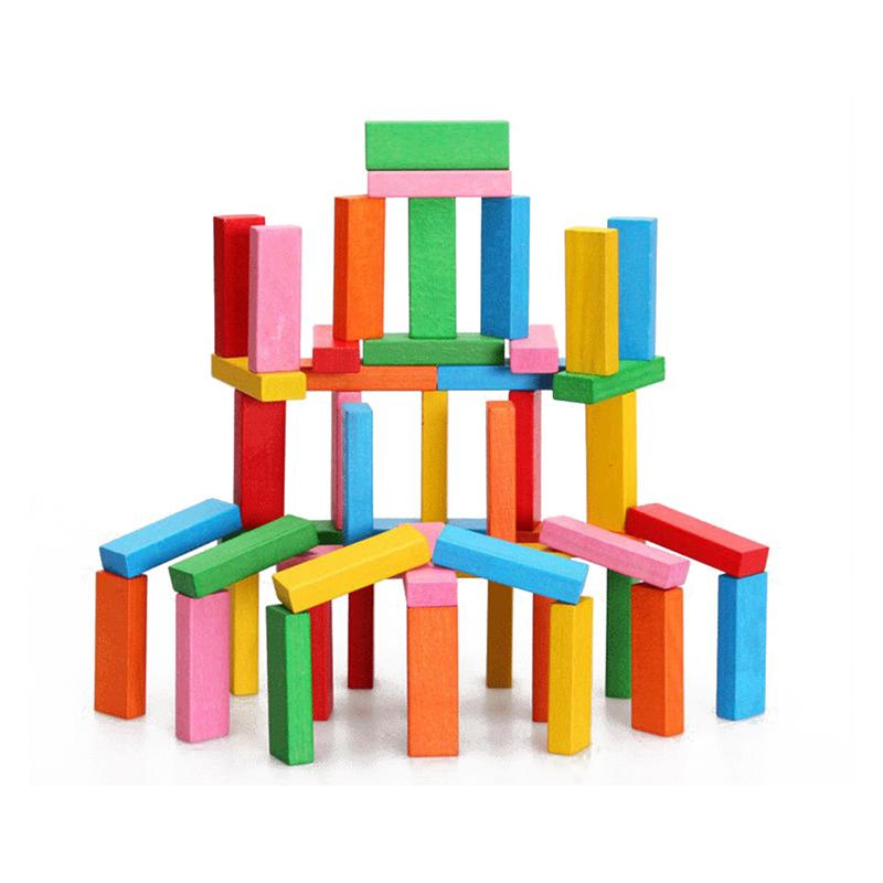 Wooden Building Blocks Set Balancing Games Playset Stacking Toys Educational Toys Creative Game for Kids Children Boys Girls 8 in 1 military ship building blocks toys for boys
