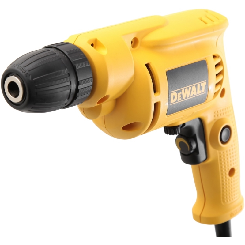 Electric drill DeWalt DWD014S (Power 550 W, speed from 0 to 2800 rpm reverse) machine drill sturm bd7045 power 450 w cartridge from 0 to 16mm speed from 280 to 2350 rpm