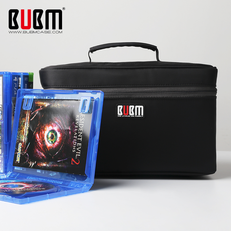 BUBM Portable PS4/ PS4 PRO/ Xbox One Game Disc Carrying ...