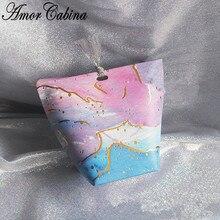 30pcs Creative Baby Bath Blue Star Galaxy Romantic Wedding Candy Box Bridal Shower Tray Party Gift