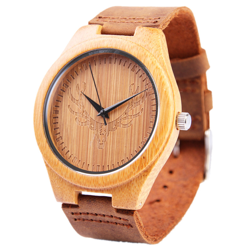Подробнее о New Bamboo Wood Watches For Men Natural Wood Leather Straps Japan Quartz Movement 2035 Men Watch Wooden Clock Male hot sell men dress watch wooden watches japan 2035 quartz movement natural wood watch new design free shipping wholesale