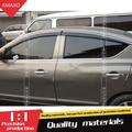 Для Nissan Sunny  Versa Пластиковый оконный козырек  защита от солнца и дождя  защита для солнечных авто  аксессуары 4 шт./компл. 2011-2016