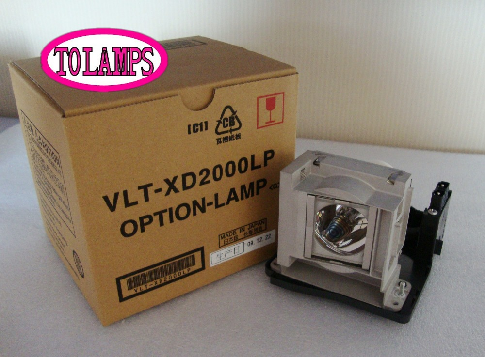 Здесь продается  Free shipping 100% Original Projector Lamp Bulbs VLT-XD2000LP for WD2000 WD2000U XD1000 XD1000U XD2000 XD2000U ETC  Бытовая электроника