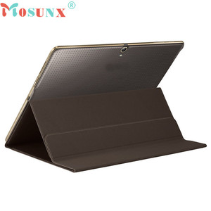 MOSUNX Advanced Tablet Case Ultra Slim Book Cover Case Stand For Samsung Galaxy Tab S 10.5 Inch SM-T800/T805 Samsung Cases L0705(China)