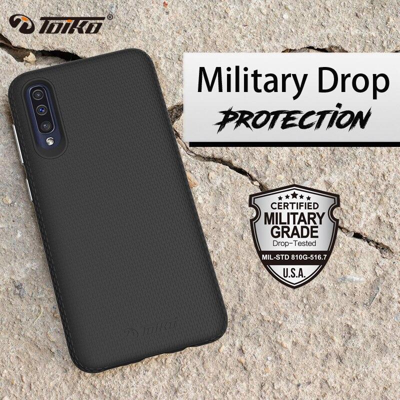 TOIKO X Guarda Dual Layer Armadura Cases para Samsung Galaxy M10 A10 A20 A30 A50 A70 Híbrido À Prova de Choque Tampa Traseira PC TPU Bumper Shell