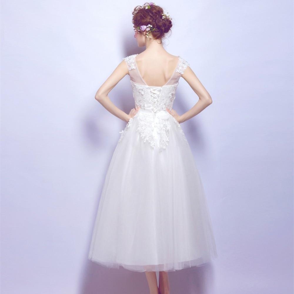 Fantastisch Brautkleider Tee Länge Jahrgang Zeitgenössisch ...