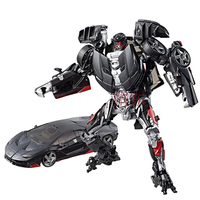 Transformed toy 5 Movie Classic Enhanced Series of Children's Toys Hot Rod
