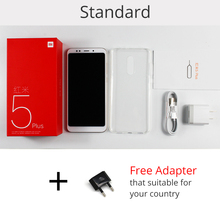 Original Xiaomi Redmi 5 Plus 4GB RAM 64GB ROM Mobile Phone Snapdragon 625 Octa Core 5.99″ 18:9 Full Screen 4000mAh Battery