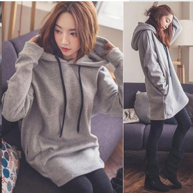 Fashion Casual Hoodies Women Hooded Jacket Long Sleeve Women's Hoodies Sweatshirts Pregnant Woman Outerwear Coats With Pocket