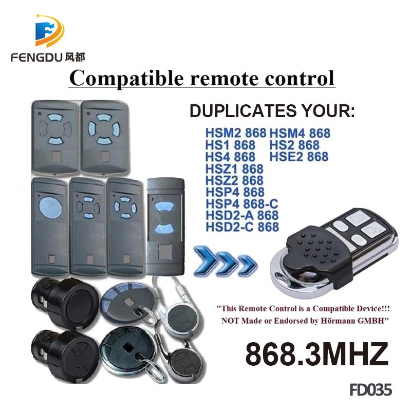 HSP HSZ Remote Control Duplicator 868.35MHz. HSM HORMANN HS HSE HSD