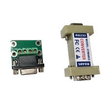 New RS232 to RS485 Communication Data Converter Adapter with a Terminal Board  LCC77