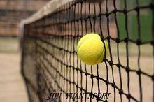 High quality!International standard tennis net 12.8x1.08m tennis ball net Grid 4.5cm
