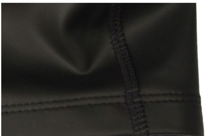 8290f9c3 Speedo llanura plana impermeable gorras de natación de la PU para hombres y mujeres  piscina sombrero oreja protección gorro de baño en Gorros de natación de ...