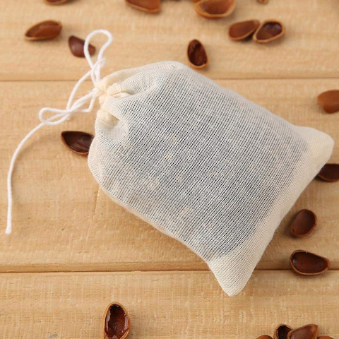 20pcs Tea Bags for Tea Bag Infuser with String Heal Seal Sachet Filter Kitchen Gadgets Karachi