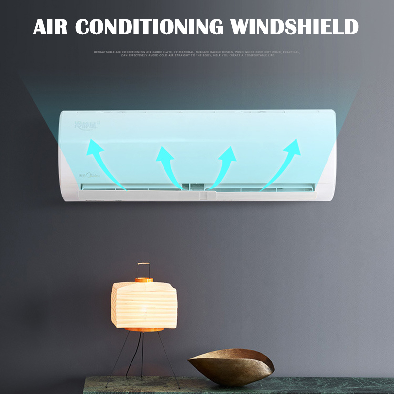 Air Conditioner Windshield Cold Wind Deflector Retractable Baffle For Home Office Hotel JDH99