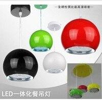 12 W colgante de luz LED, barra de techo de diseño, dormitorio cocina bar lámpara colgante de techo del envío libre