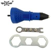 ACEHE 1Pcs Electric Rivet Nut Gun Riveting Tool Portable Cordless Riveting Drill Adaptor Multifunction Auto Rivet
