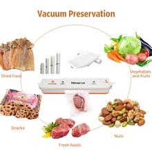 Nineplus Household Best Food Vacuum Sealer Saver Home Automatic Vacuum Sealing Packer Plastic Packing Machine Bags 10 piece free