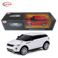 Licensed 4CH Rastar RC Cars 1:24 Range Rover Evoque Remote Control Toys Machines On The Radio Controlled Toys For Children 46901